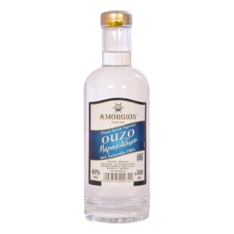 Ούζο Μερακλίδικο 500ml - Αμόργιον