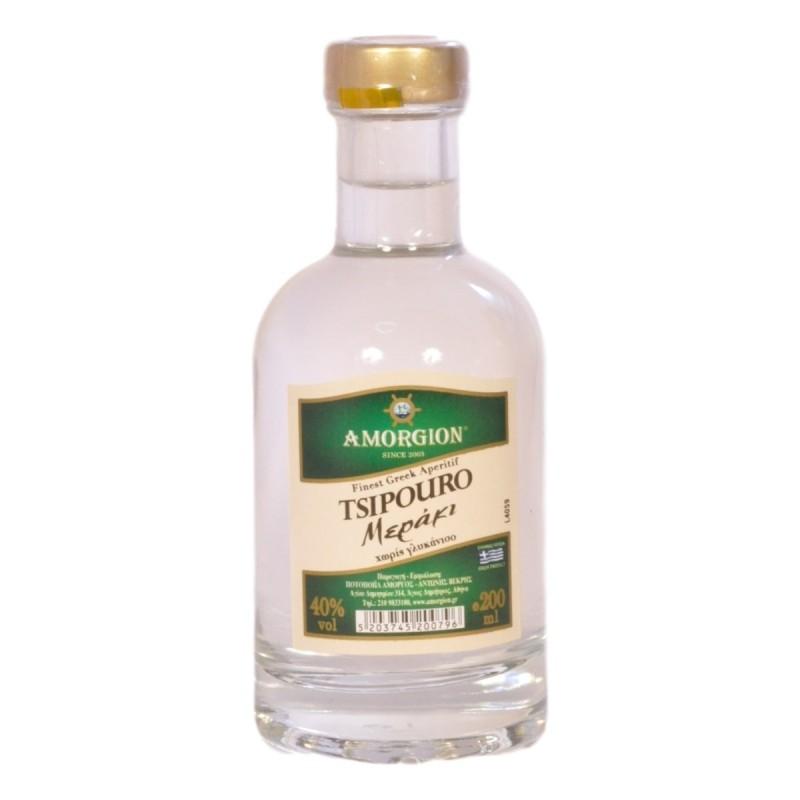Tsipouro Amorgion Meraki 200ml - Αμόργιον