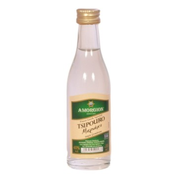 Tsipouro Amorgion Meraki 50ml - Αμόργιον