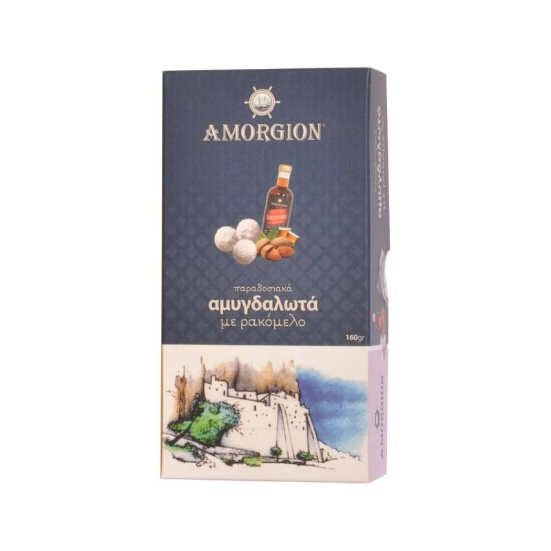 Macaroons Amorgion With Rakomelo